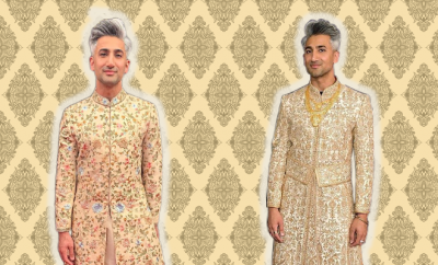 Hauterfly Tan France Emmy Sherwani 2019