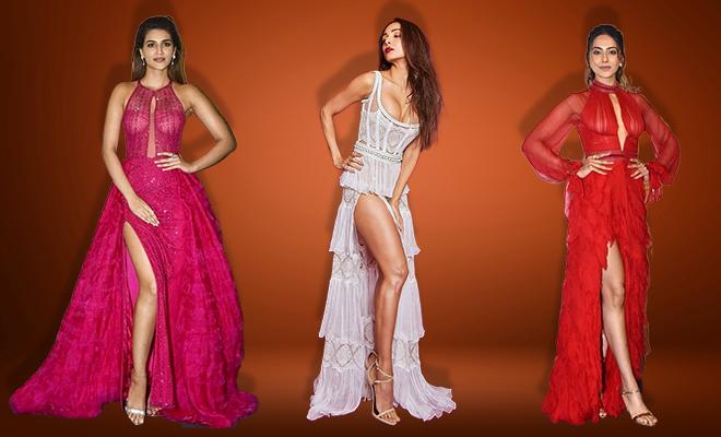 Hauterfly Vogue Beauty Awards Thigh High Slits