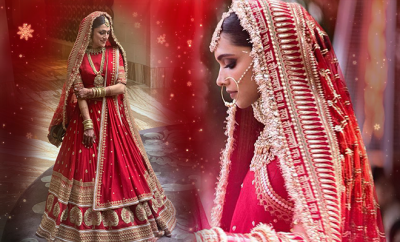 bride-recreates-Deepika-Padukone's-gorgeous-bridal-dress FI-660-400-hauterfly