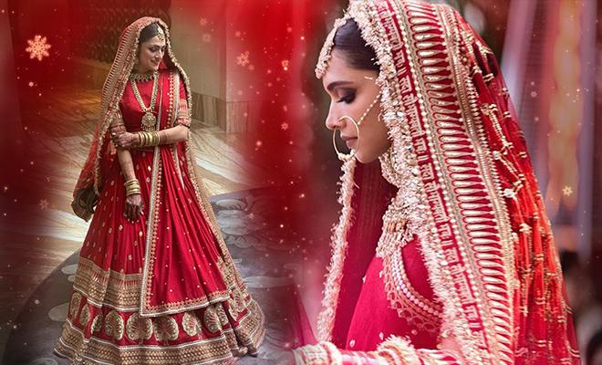 bride-recreates-Deepika-Padukone's-gorgeous-bridal-dress FI-660-400-hauterfly