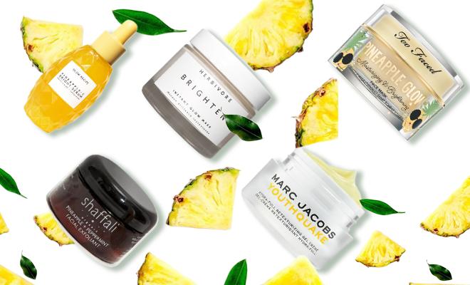 pineapple skincare