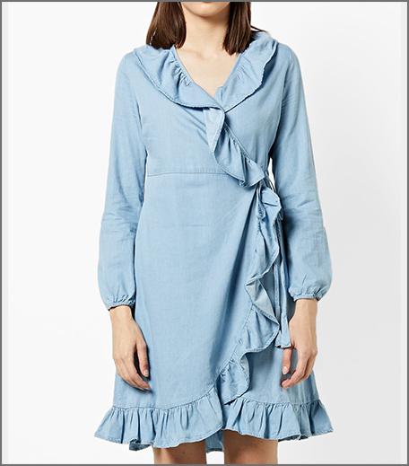 Hauterfly Denim Dress