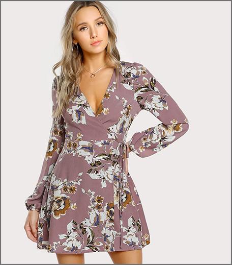 Hauterfly Wrap Dress