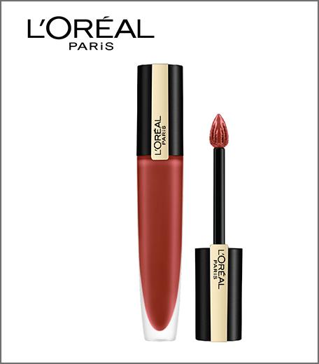 Hauterfly L'Oreal Paris Rouge Signature Matte Liquid Lipstick