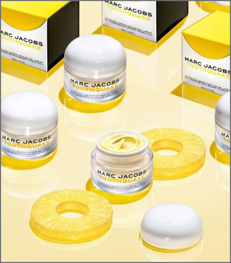 Marc Jacobs pineapple skincare