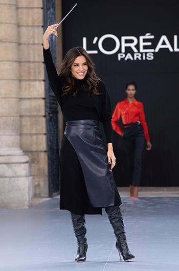 Eva Longoria Paris Fashion Week 2019