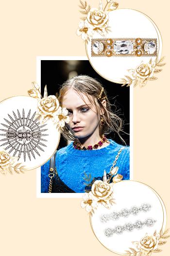 luxury hair clips