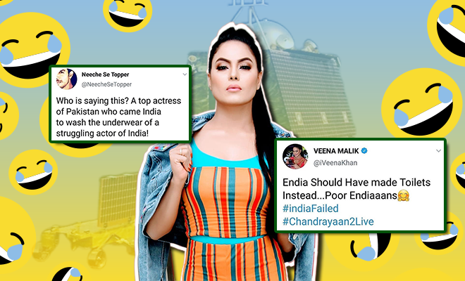 Veena Malik's Comment On The Chandrayaan 2 Mission Was Idiotic And ...