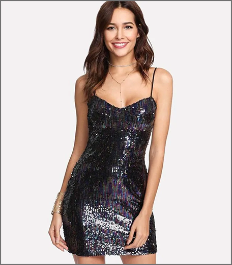 Hauterfly Sequinned Dress