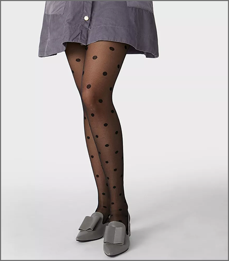 Hauterfly Mesh Stockings Black