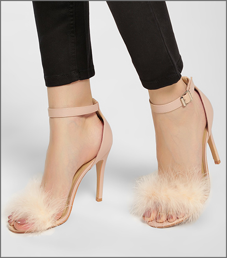 Hauterfly furry heels