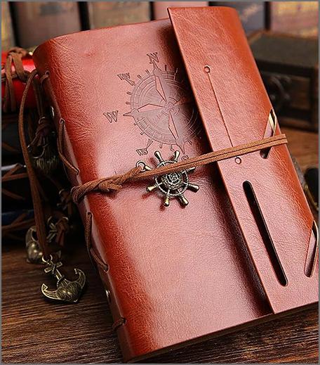 Vintage Travel Journal