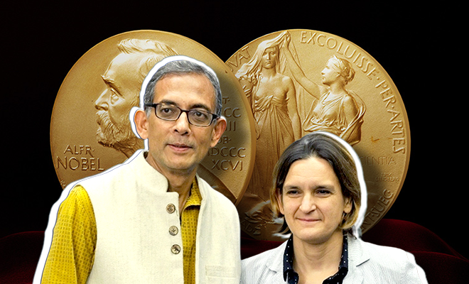 Abhijit Banerjee and Esther Duflo 2019