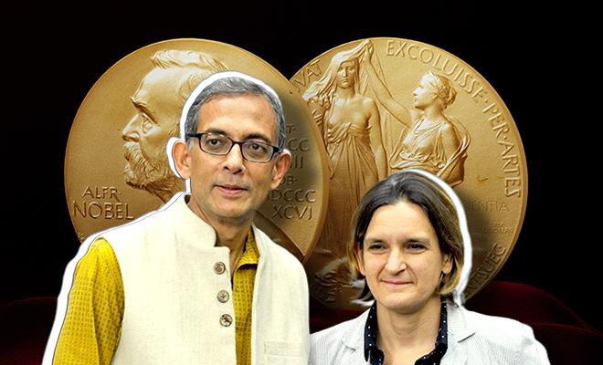 Abhijit Banerjee and Esther Duflo 2019