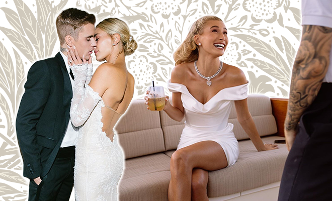 Hauterfly Hailey Bieber Justin Bieber Wedding