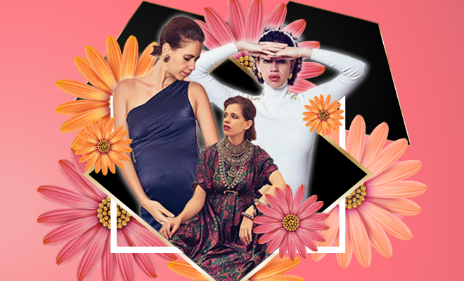Kalki Koechlin Maternity Fashion