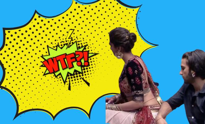Ranveer Singh Stares At Deepika Padukone