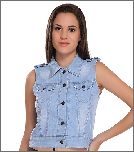 Hauterfly Denim Vest