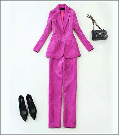 Hauterfly Pink Pantsuits