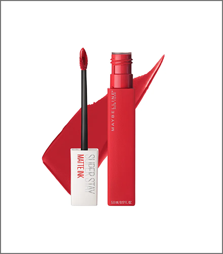 Maybelline Super Stay Matte Ink Red India_Hauterfly