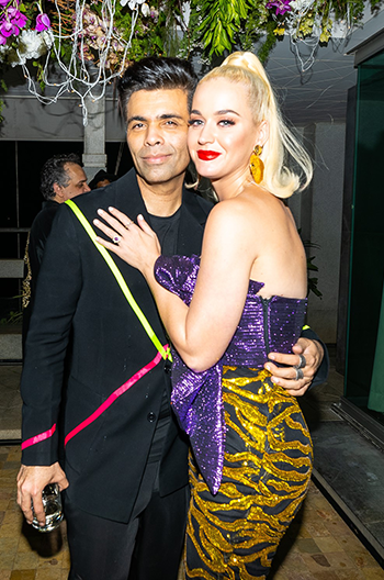Hauterfly Karan Johar Katy Perry Party 2