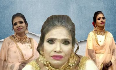 Ranu Mondal Whitewashed Makeup