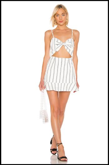 Hauterfly Cut Out Dress