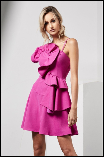 Hauterfly Pink Dresses 6