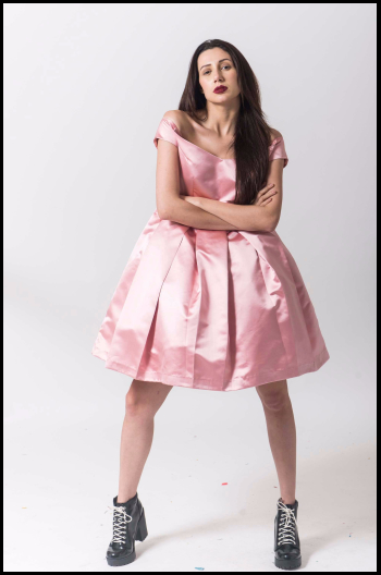Hauterfly Pink dresses 3