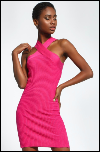 Hauterfly Pink Dresses 5