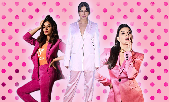 Hauterfly Pink Pantsuits Trend