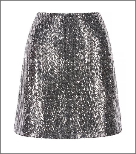 Hauterfly Christmas Gifting Sequinned Skirt