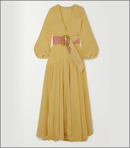 Hauterfly SILVIA TCHERASSI yellow dress