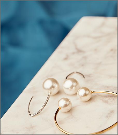 Hauterfly Christmas Gifting Pearl Earrings