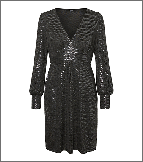 Hauterfly Christmas Gifting Black Dress
