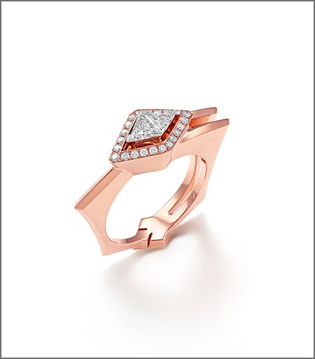 Hauterfly Christmas Gifting Rose Gold Ring