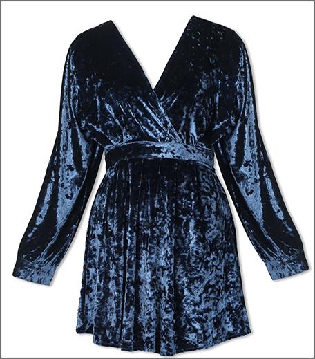 Hauterfly Christmas Gifting Velvet Dress