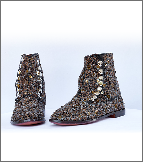 Hauterfly Holiday Gifting Embroidered Boots