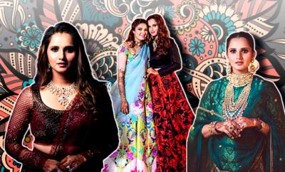 Hauterfly Sania Mirza Anam Mirza Wedding 2019