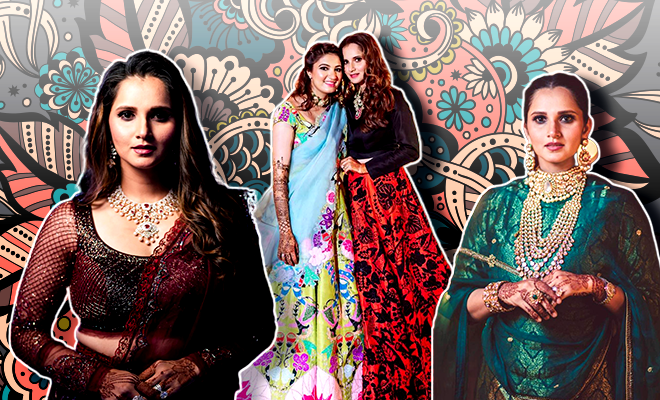 Hauterfly Sania Mirza Anam Mirza Wedding 2019
