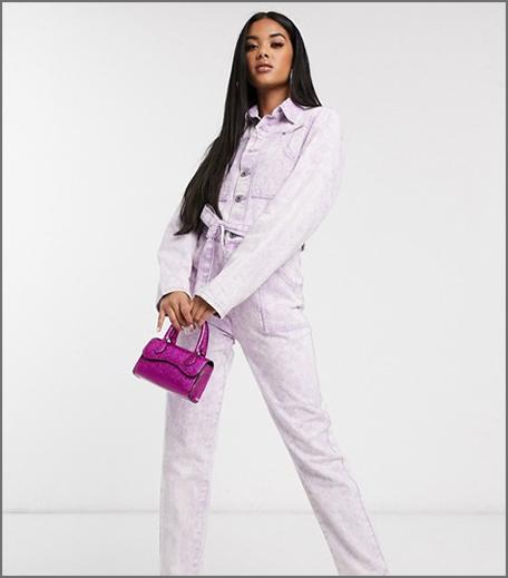 Hauterfly Boiler Suit Purple