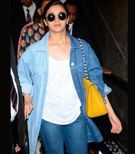 Hauterfly Alia Bhatt Denim Jacket