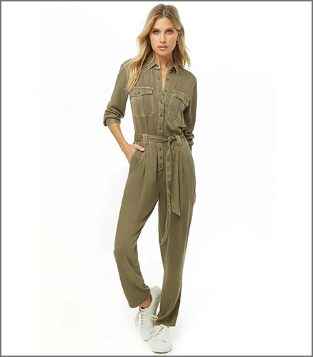 Hauterfly Boiler Suit Military Green