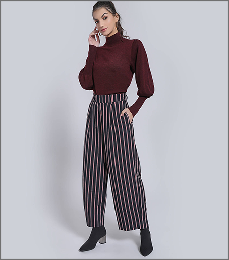 Hauterfly Pinstriped Trousers