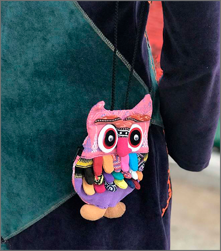 Hauterfly Tiny Owl Bag