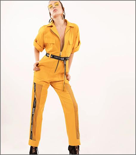Hauterfly Boiler Suit Yellow