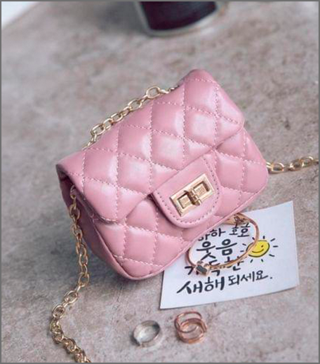 Hauterfly tiny bag pink