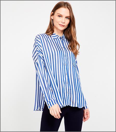 Hauterfly Pinstriped Shirt