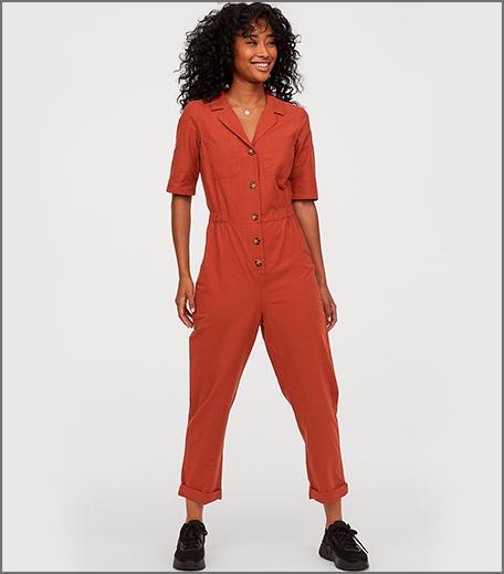 Hauterfly Boiler Suits Rust Orange