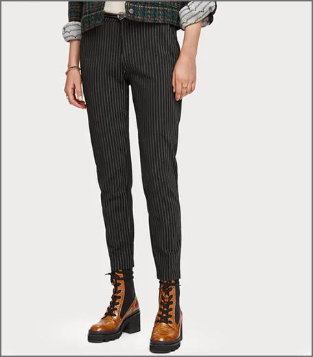 Hauterfly Pinstripe Trousers
